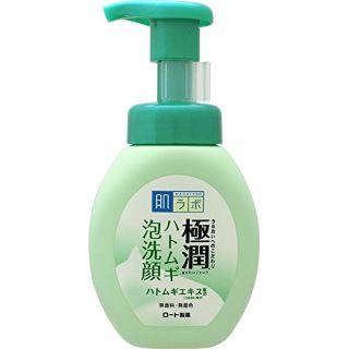 肌ラボ 極潤 毛穴洗浄 大人ニキビ予防 ハトムギ泡洗顔