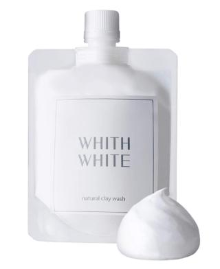 WHITH WHITE 泥洗顔