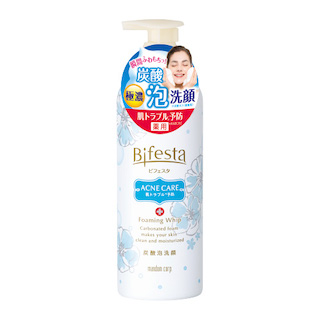 ビフェスタ 炭酸泡洗顔 コントロールケア