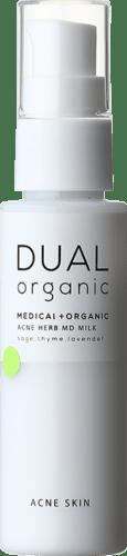 DUAL ORGANIC アクネハーブMDミルク