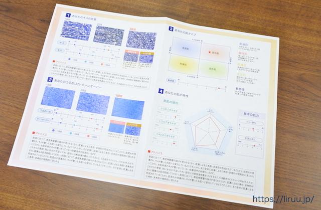 ライスフォース  効果 肌分析