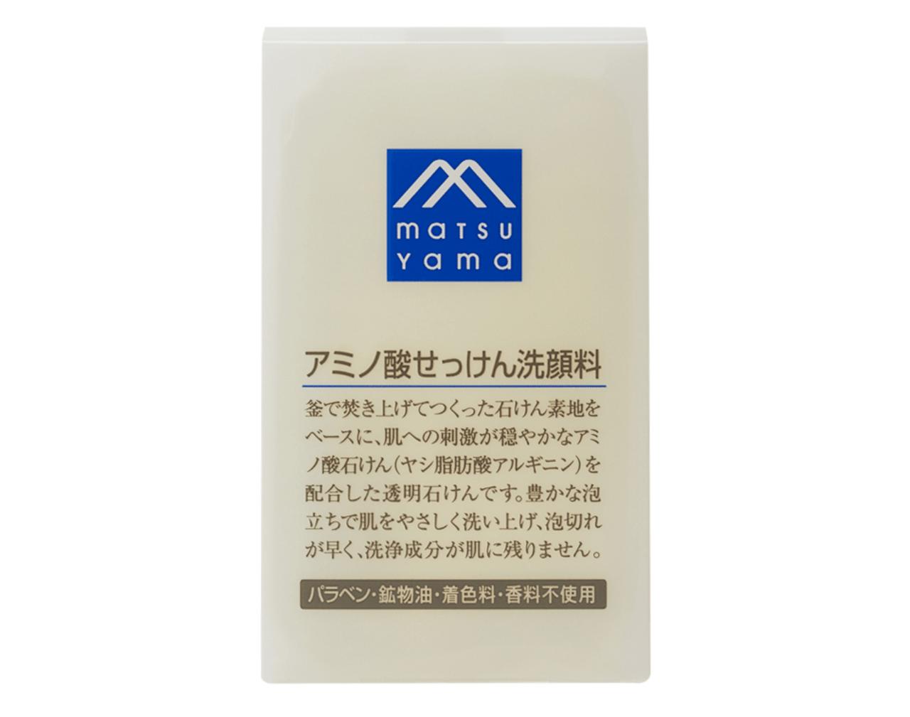松山油脂 M-mark アミノ酸せっけん洗顔料
