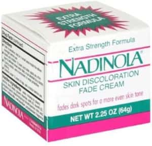 NADINOLA Discoloration Fade Cream