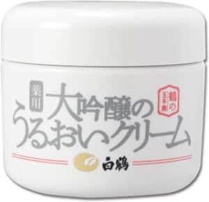 白鶴酒造/鶴の玉手箱 薬用 大吟醸のうるおいクリーム