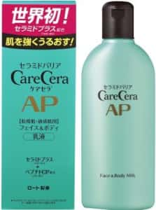 ロート製薬/ケアセラ APフェイス&ボディ乳液