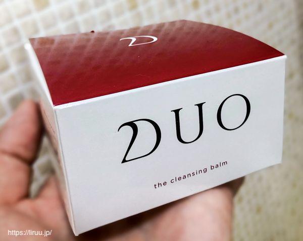DUOクレンジングバーム外箱