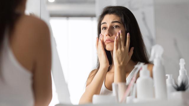 鏡 女性 スキンケア